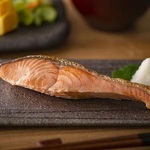 三協水産 漁吉丸 銀聖 新巻鮭 熟成 姿切身