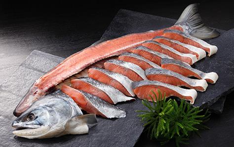 新巻鮭 秋鮭 姿切身