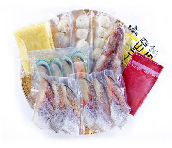 坦々海鮮鍋【3~4人前】(具材8種・たれ付)パッケージ