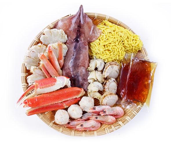 海鮮しお鍋 パッケージ