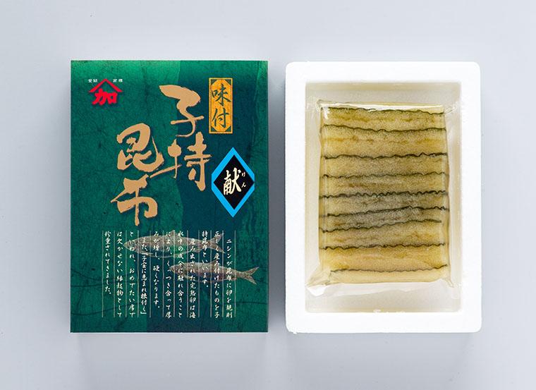 味付子持ち昆布 化粧箱入り(200g)