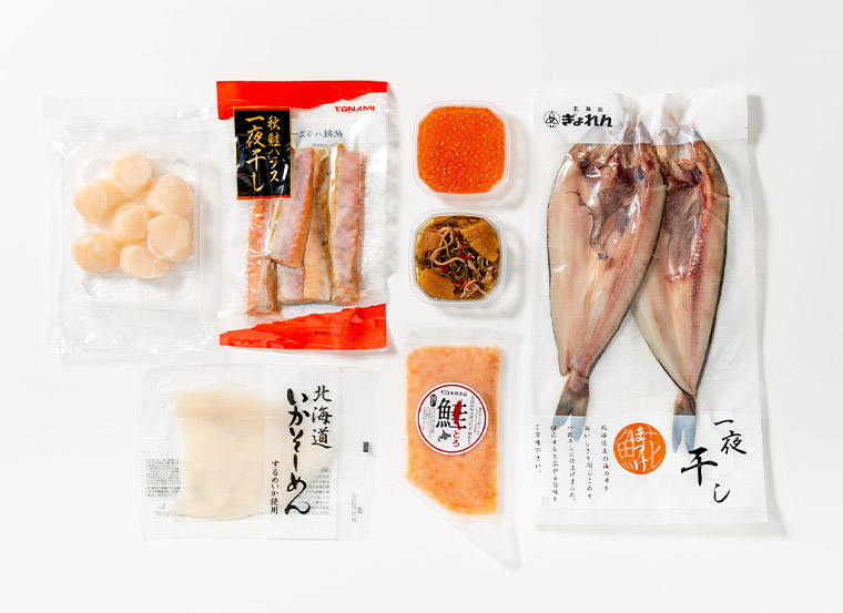 海鮮7種詰合せ商品パッケージ画像