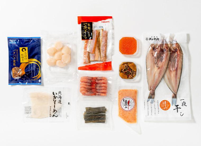 海鮮10種詰合せ商品パッケージ画像