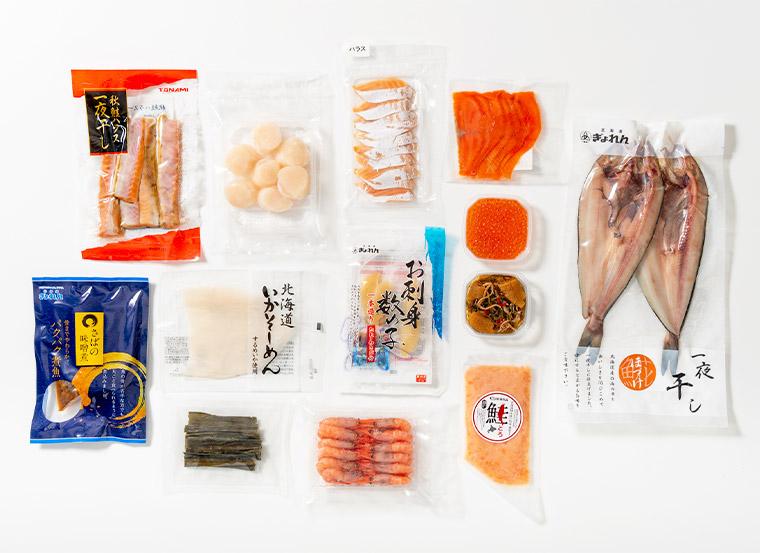 海鮮13種詰合せ商品パッケージ画像