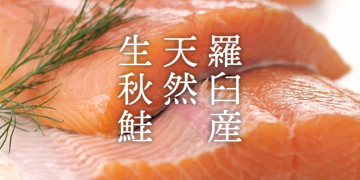 羅臼産秋鮭