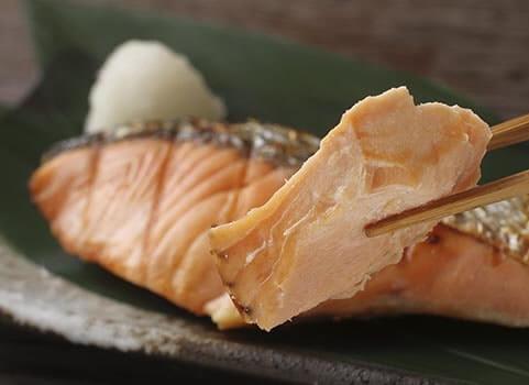 銀聖新巻鮭 焼き鮭イメージ